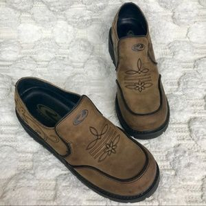 Roper Western Style Slip On Shoes